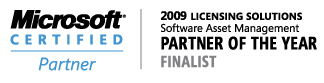 Partner Awards 2009 Finalist Banner