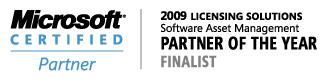 Partner Awards 2009 Finalist Banner